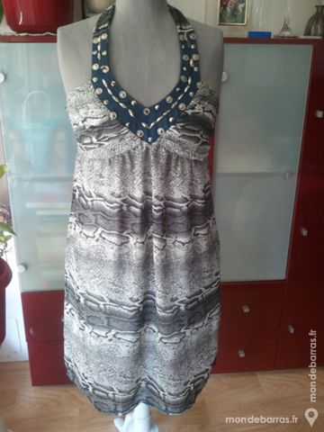ROBE DOS NU TAILLE 38 -40 GRISE LEZARD 20 Anglet (64)