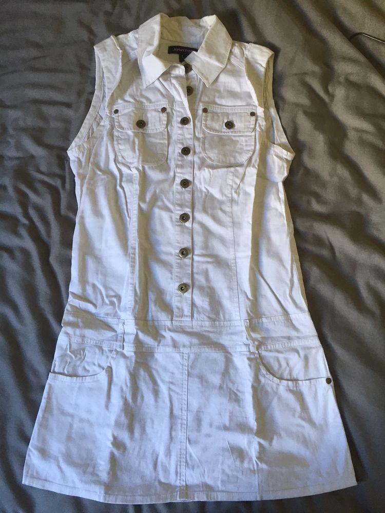 Robe tunique blanche Jennyfer - Taille L 9 Bourg-en-Bresse (01)
