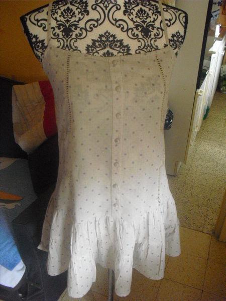 robe tunique a motifs fines bretelles NEUVE SCHOOL RAG T 1 12 Lyon 5 (69)