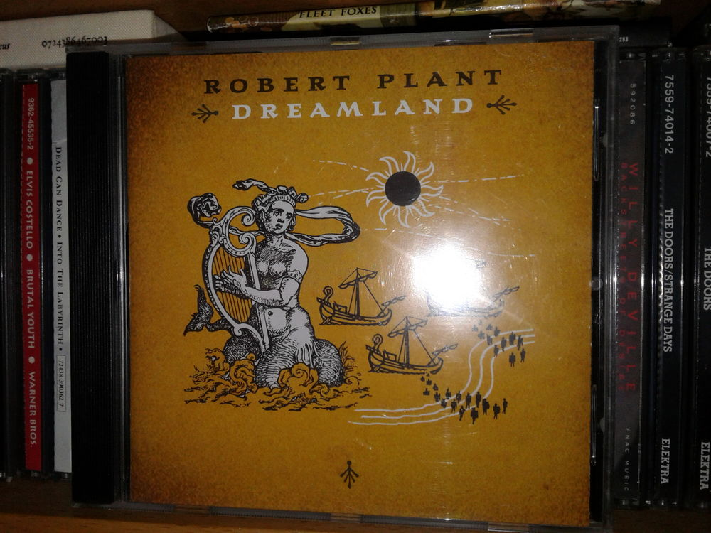 CD Robert Plant - Dreamland 4 Paris 15 (75)