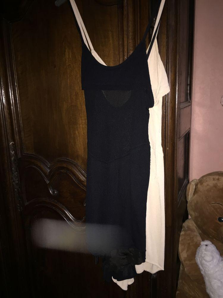2 robes en jersey ALAIA :une noire l'autre beige  300 Saint-Germain-Lespinasse (42)
