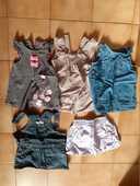 Lot de 4 robes et 1 jupe pour bébé de 6 mois 20 Grisolles (82)