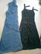 2 robes longues jean - 1 robe tunique 40/42 - zoe Vêtements