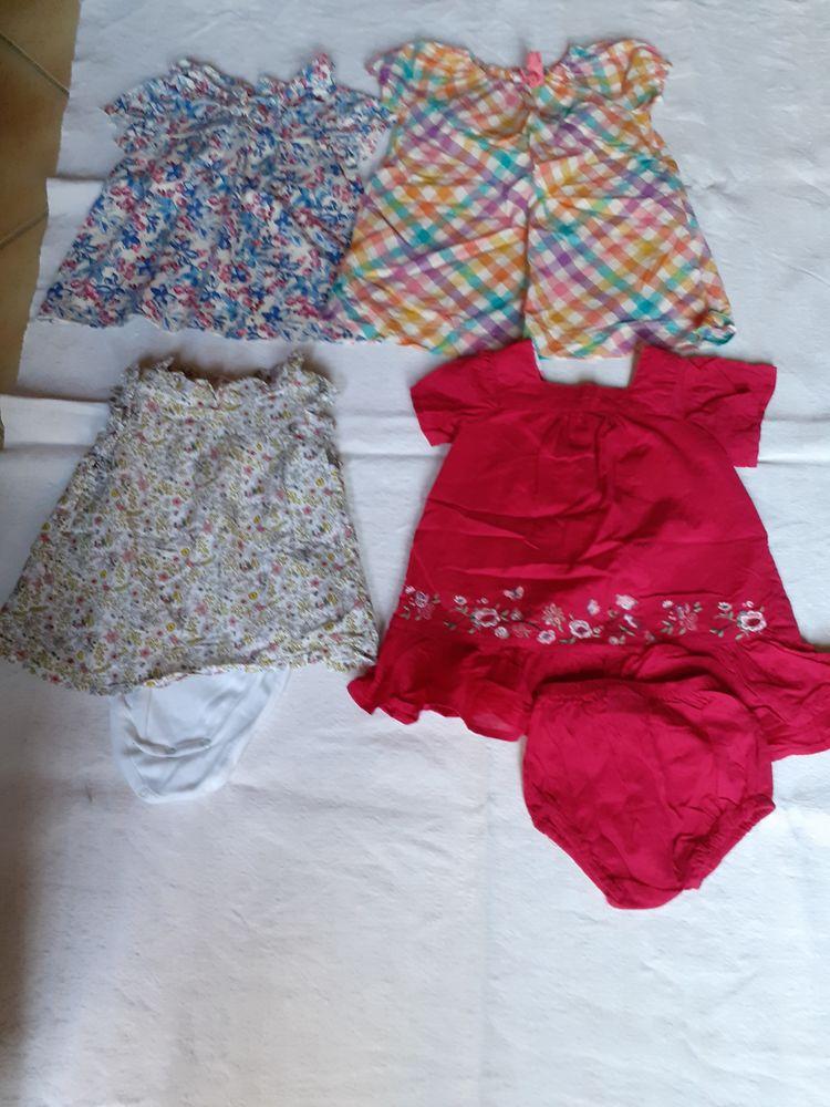 Lot de 4 robes été 12 mois 18 Grisolles (82)