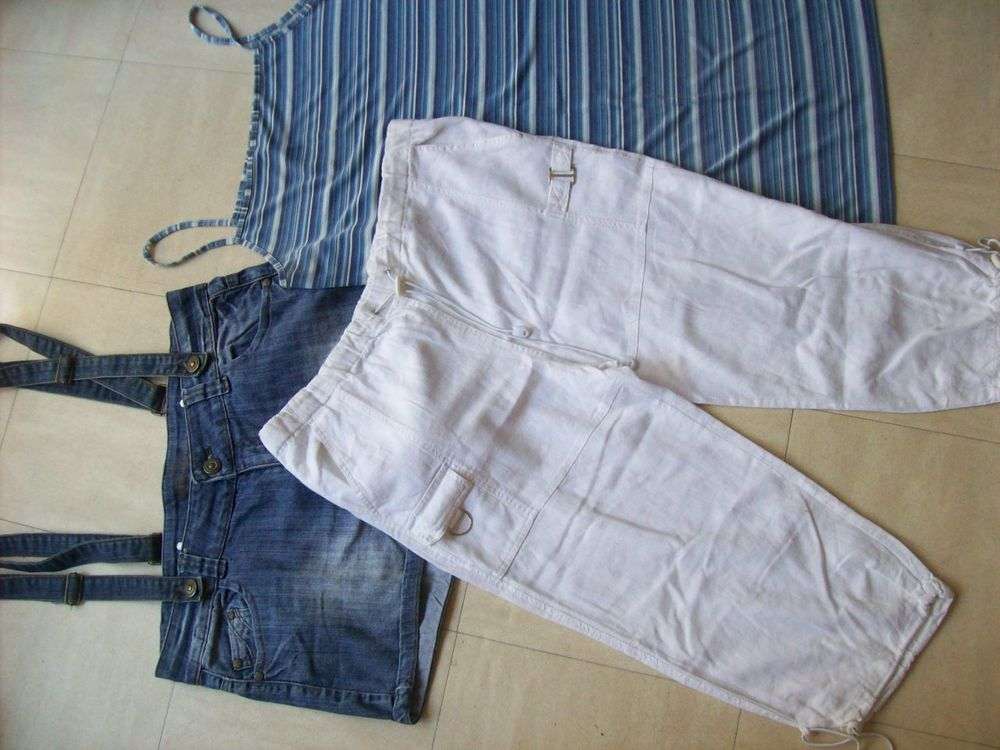 2 ROBES, PANTACOURT, short en jean - 42 - zoe 4 Martigues (13)