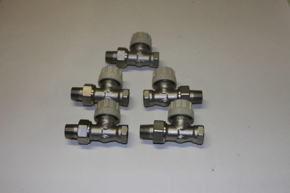 robinet droit de radiateur 12/17 SAR thermostatique 15 Domont (95)
