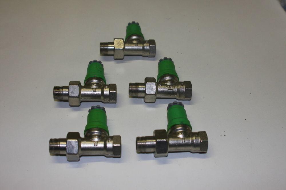 robinet thermostatique DANFOSS droit  12/17 pour radiateur 15 Domont (95)