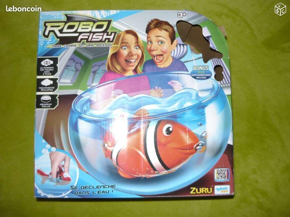 Robot Fish avec Poissons en + et 1 requin Jeux / jouets