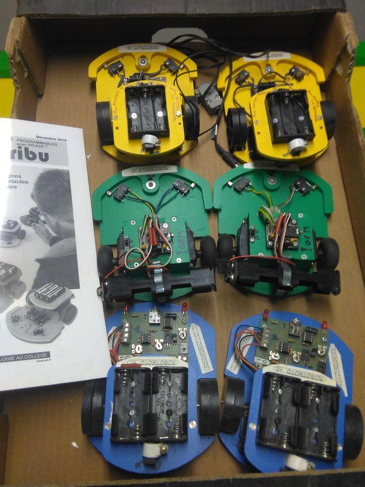 6 Robots à programmer Meubles