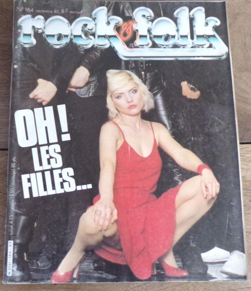 Rock & Folk revue n° 164 Oh les filles  4 Laval (53)