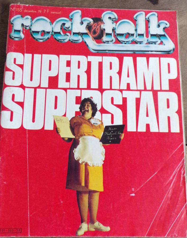 Rock & folk revue n° 155 Supertramp superstar 4 Laval (53)