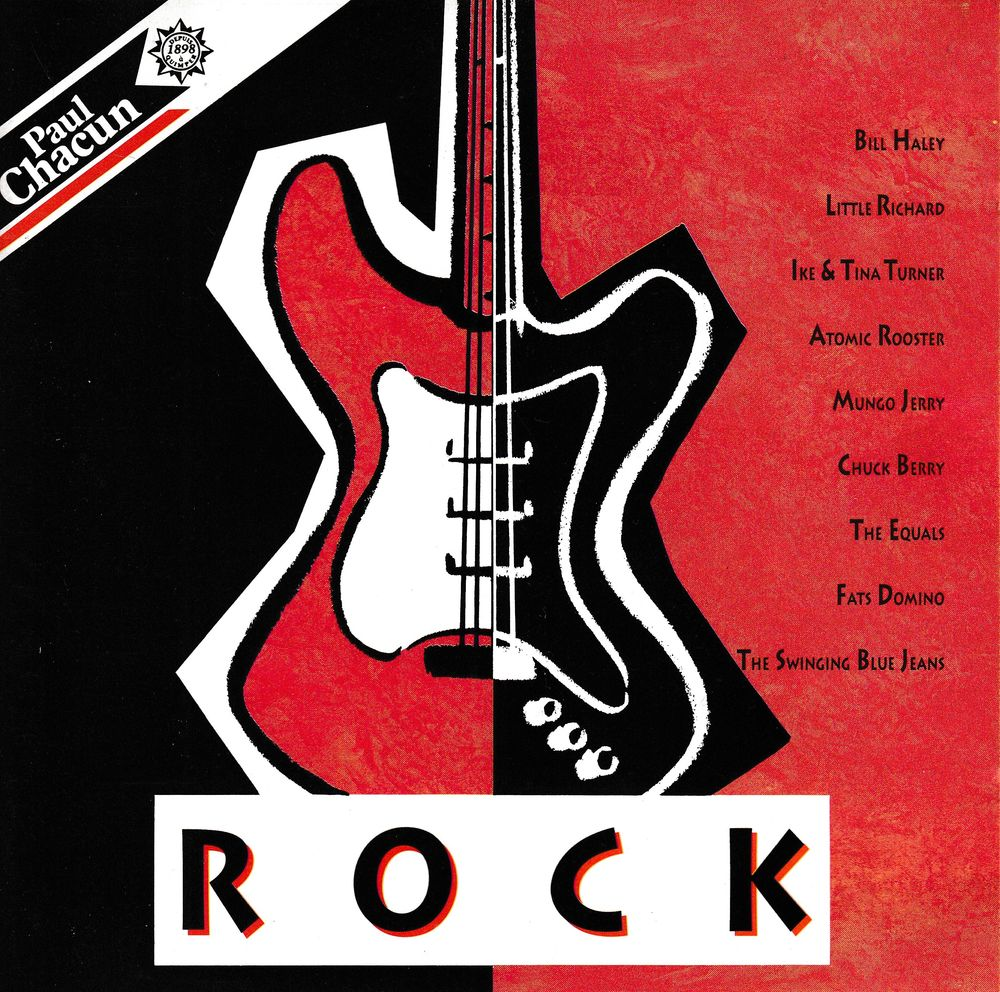 CD     Rock - Objet Publicitaire Paul Chacun     Compilation 5 Bagnolet (93)