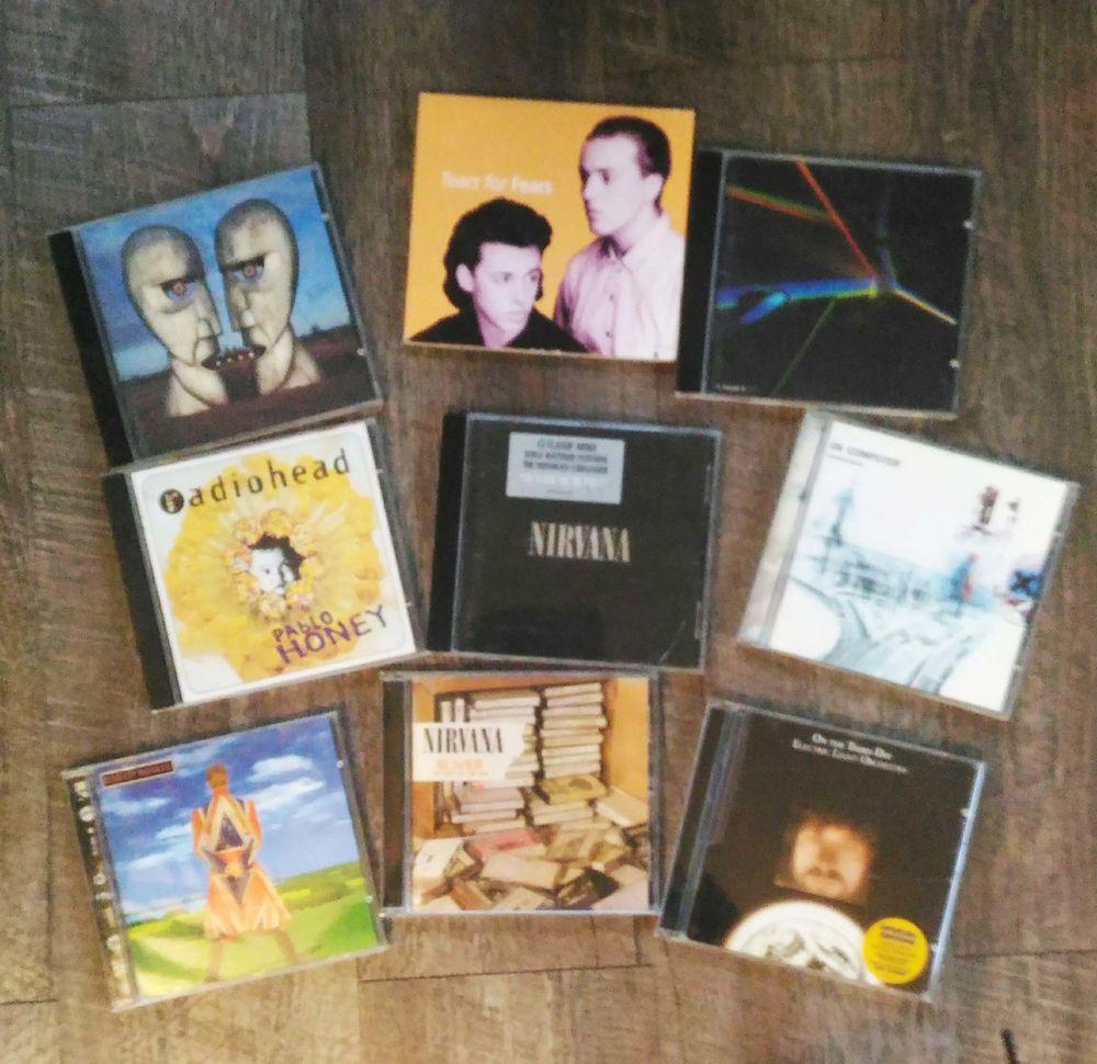 CDs Rock en TBE 3 Belfort (90)