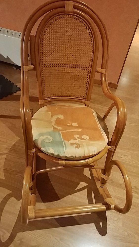 Rocking chair en rotin 0 Saint-Sulpice-les-Feuilles (87)
