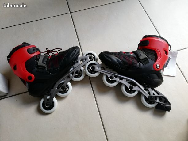 ROLLERS HOMME FIT500 TECHNO RED 25 Pouzauges (85)