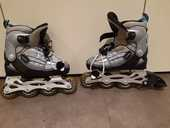 Rollers taille 32 - 35 réglable, marque FILA 15 Tours (37)