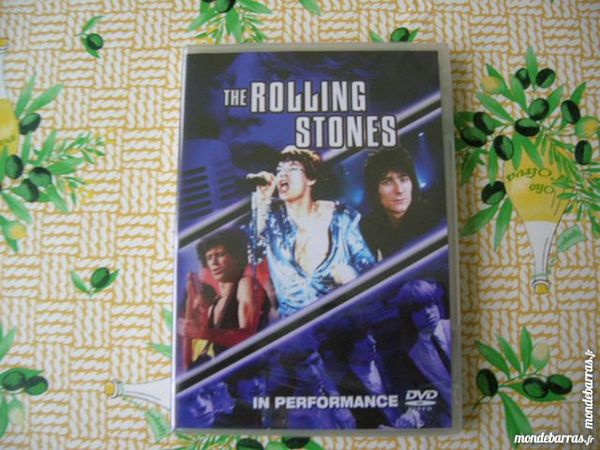DVD THE ROLLING STONES In Performance DVD et blu-ray