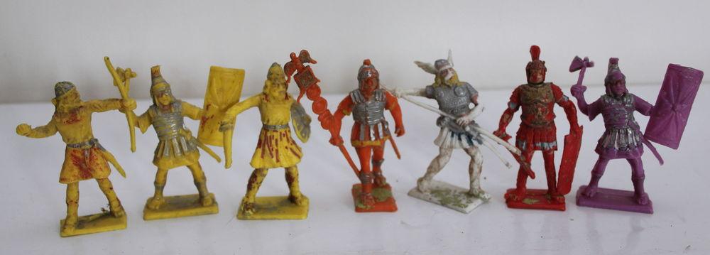 Romains & barbares, vikings jouets vintage 70 20 Issy-les-Moulineaux (92)