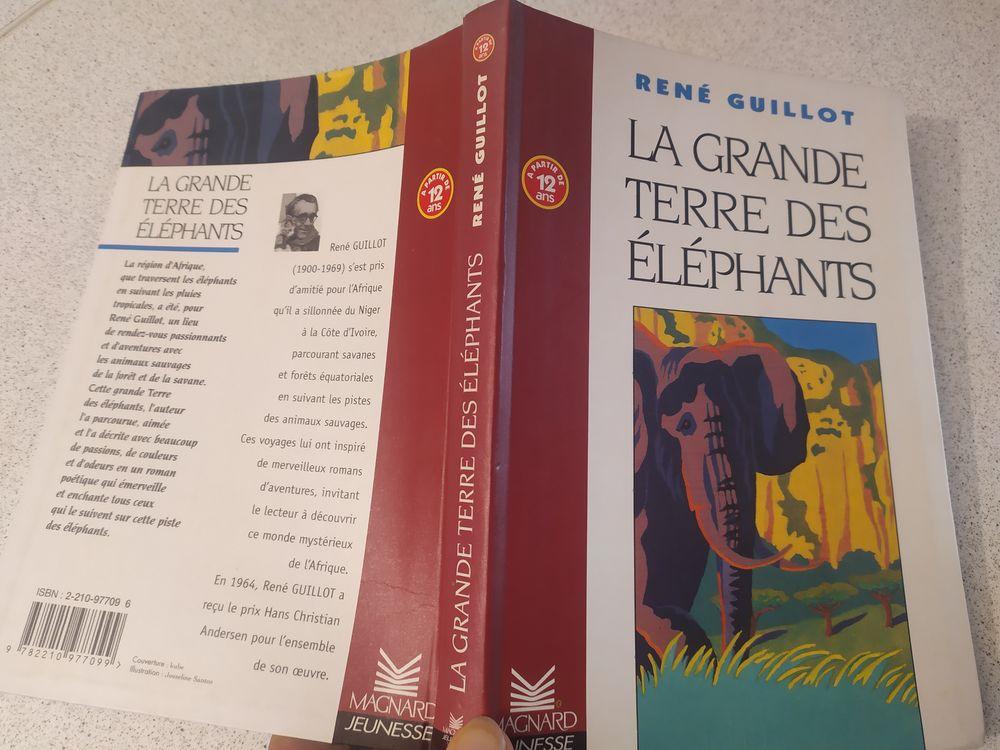 Roman d'aventure collège  La grande terre des éléphants  2 Tournefeuille (31)