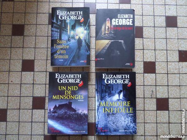 roman de ELIZABETH GEORGE Livres et BD