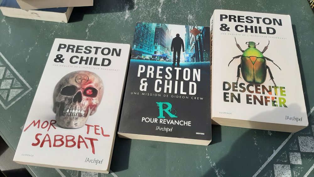 Roman fantaisie Preston & Child 5 Saint-Germain-lès-Corbeil (91)
