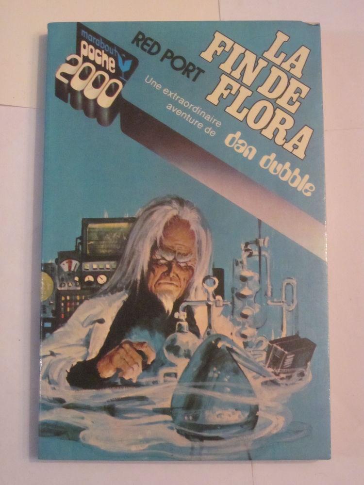 roman  S F - LA FIN DE FLORA  par  RED PORT 3 Brest (29)