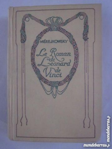 LE ROMAN DE LEONARD DE VINCI édit  NELSON 4 Brest (29)