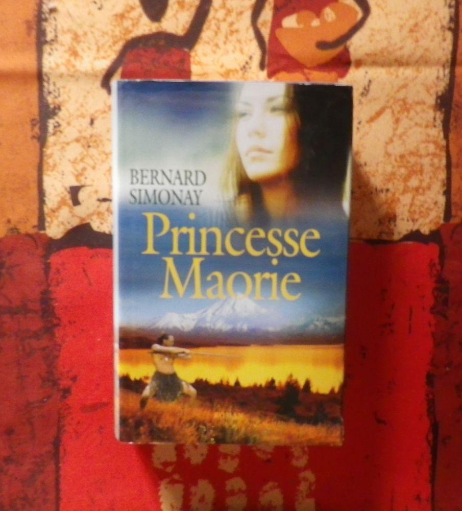 Roman PRINCESSE MAORI de Bernard SIMONAY France Loisirs 4 Bubry (56)