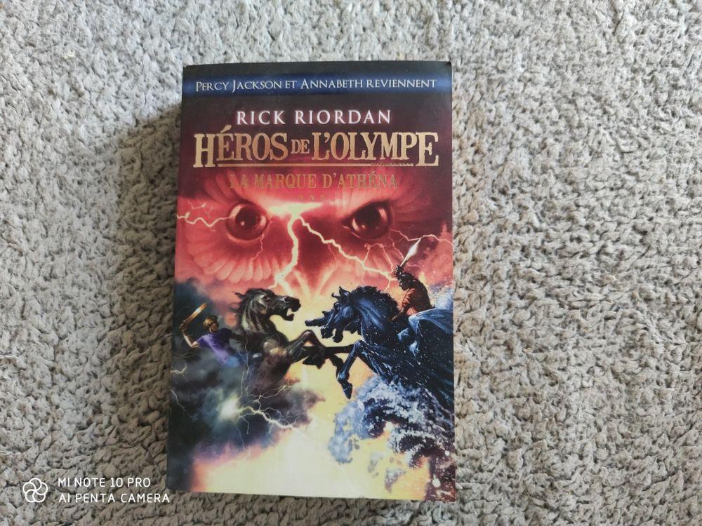 roman Rick Riordan collection HEROS DE L'OLYMPE, tome 3 Livres et BD
