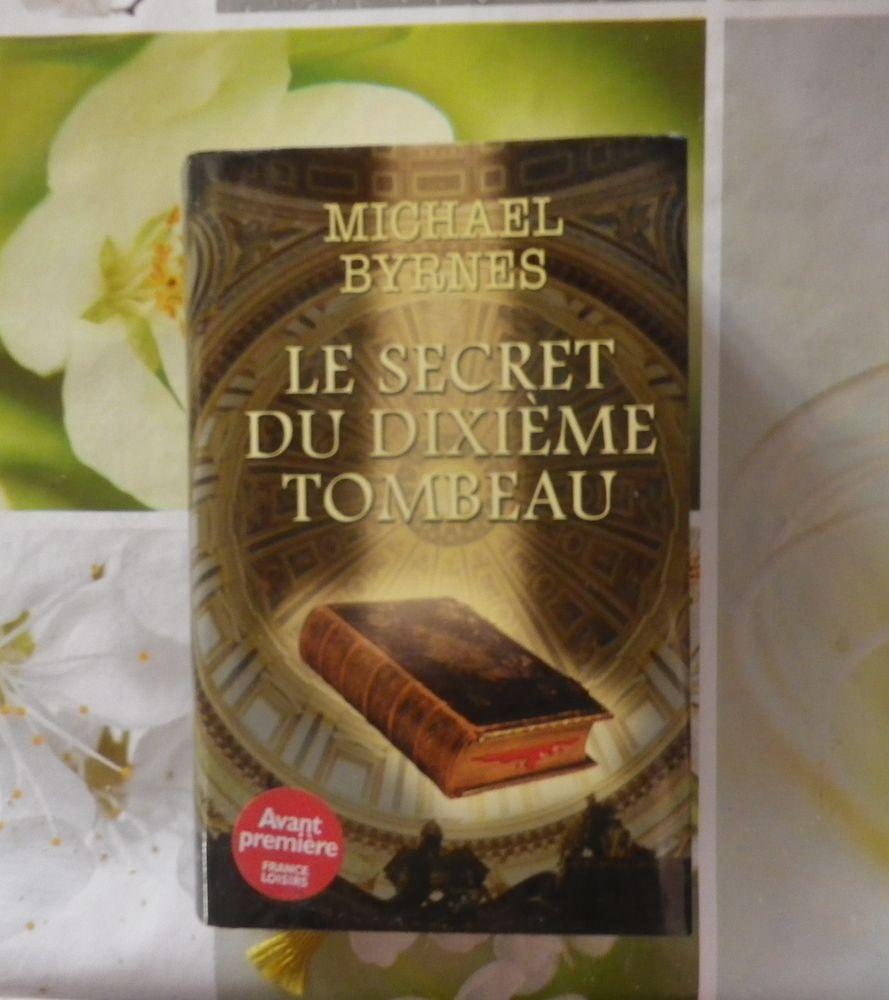 ROMAN LE SECRET DU DIXIEME TOMBEAU de Michael BYRNES 5 Bubry (56)