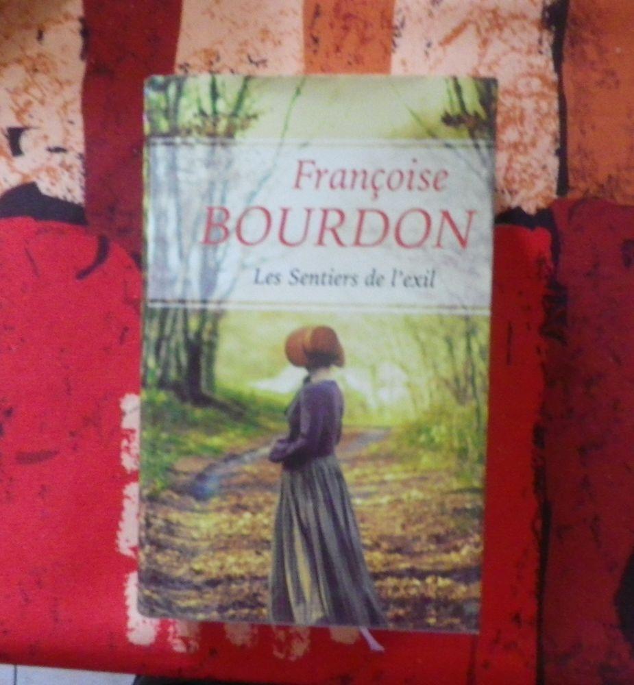 ROMAN LES SENTIERS DE L'EXIL de Françoise BOURDON 4 Bubry (56)