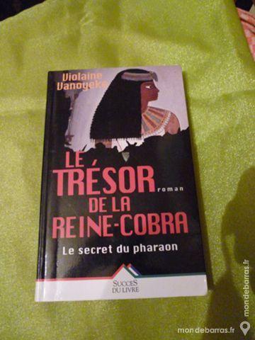 Roman«Le Trésor de la Reine Cobra » 4 Goussainville (95)