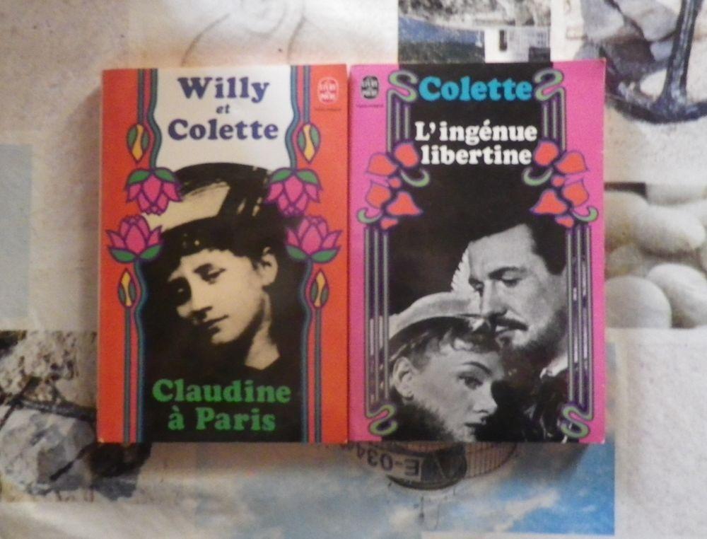 2 romans de COLETTE Claudine à Paris et L'Ingénue libertine 5 Bubry (56)