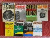 LOT DE 8 ROMANS DE Georges SIMENON 45 Attainville (95)