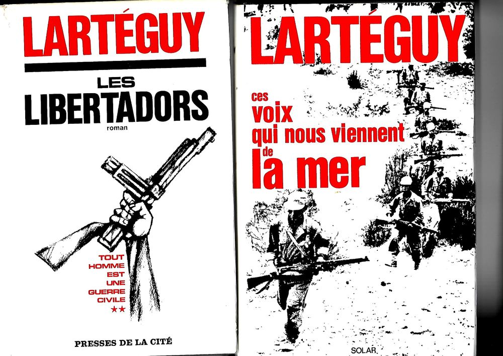 Romans de Jean LARTEGUY 0 Mulhouse (68)