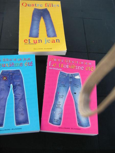 Lot de 3 romans  Quatre filles et un jean  10 Le Vernois (39)