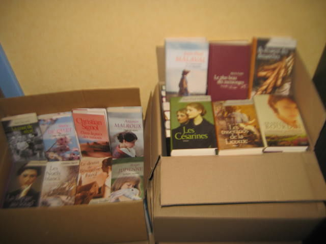 145 Romans du terroir et romant. comme neufs Livres et BD