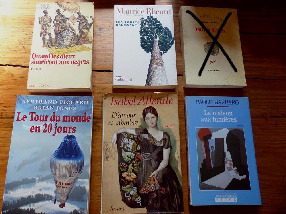 Lot de 6 romans 6 Strasbourg (67)