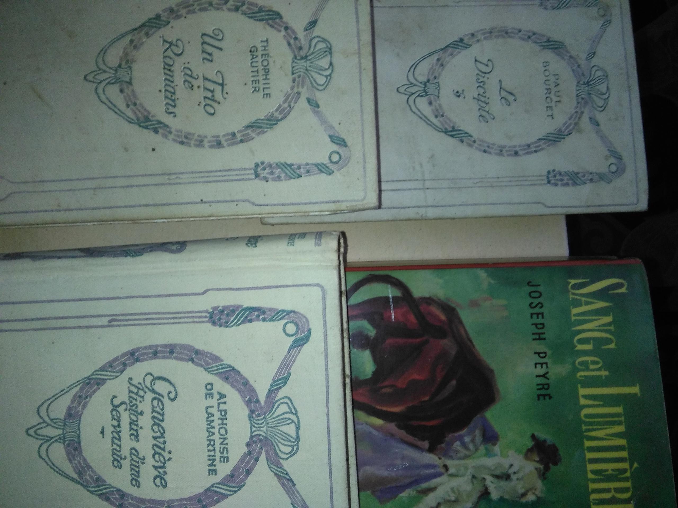 Lot de 4 romans 4 Béziers (34)
