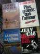4 romans Livres et BD