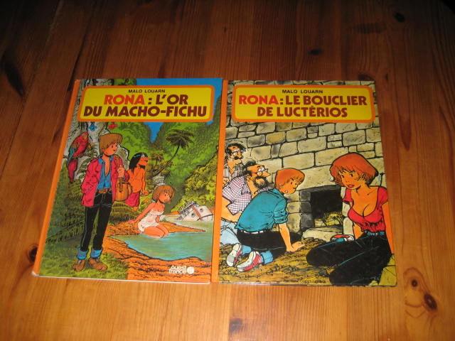 lot bd RONA 1+6 ouest france l'or du macho-fichu + le bouclier de lucterios 25 Cézy (89)