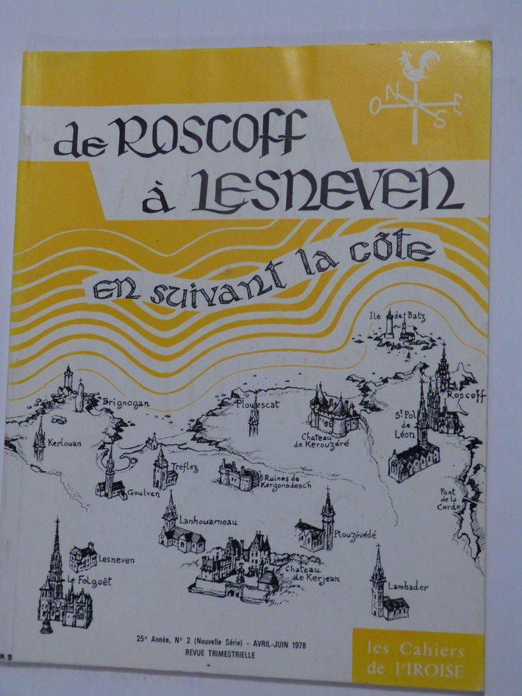 DE ROSCOFF A  LESNEVEN 4 Brest (29)