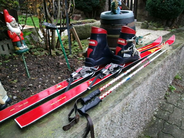 SKI.ROSSIGNOL-FIX-stop ski-chaussures-batons- 80 Eschau (67)