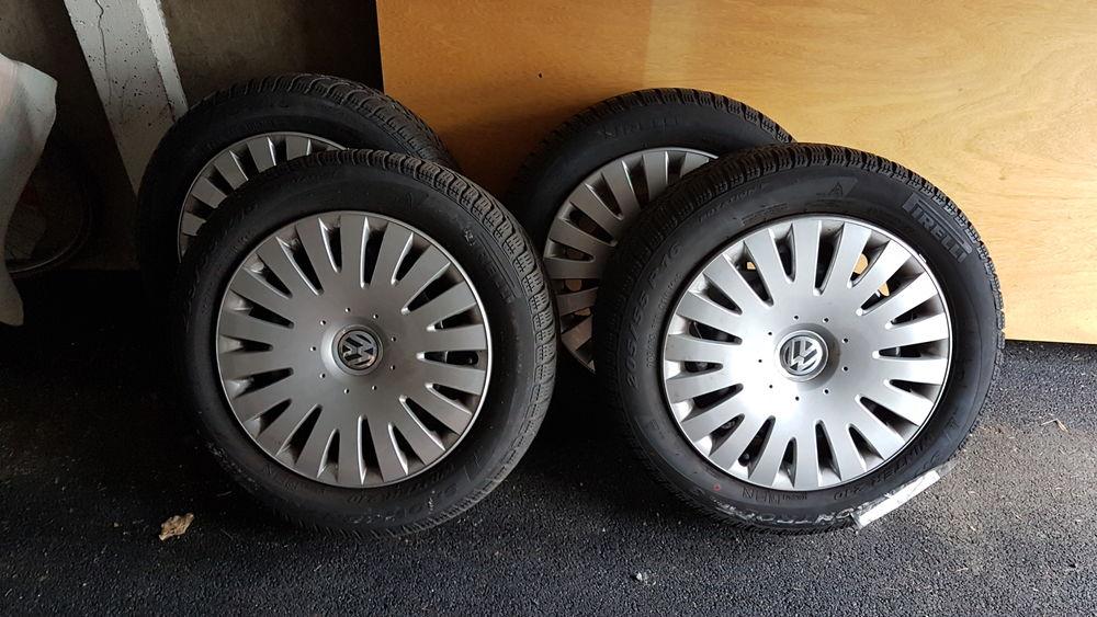 4 roues complètes avec enjoliveurs peu roulé 80 Mons-en-Barœul (59)