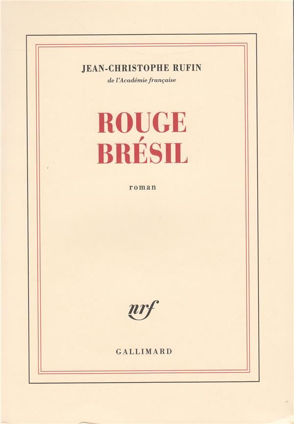 Rouge bresil - RUFIN 4 Rennes (35)