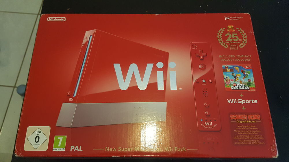 Wii rouge  100 Poitiers (86)