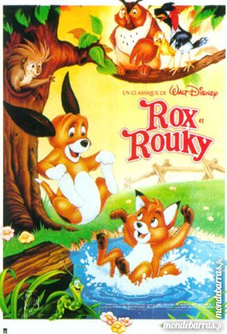 K7 Vhs: Rox et Rouky (245) 6 Saint-Quentin (02)