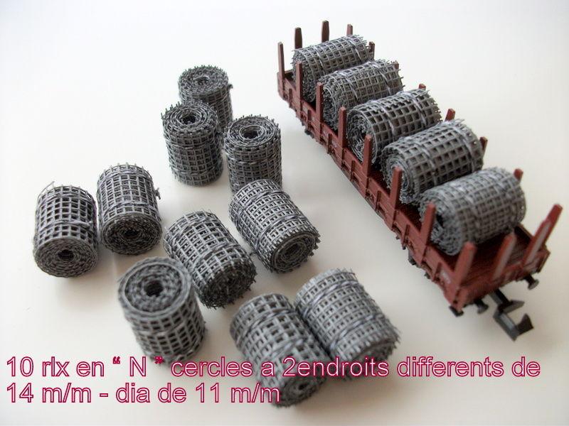 10 ROULEAUX EN -N- 6 Hénin-Beaumont (62)
