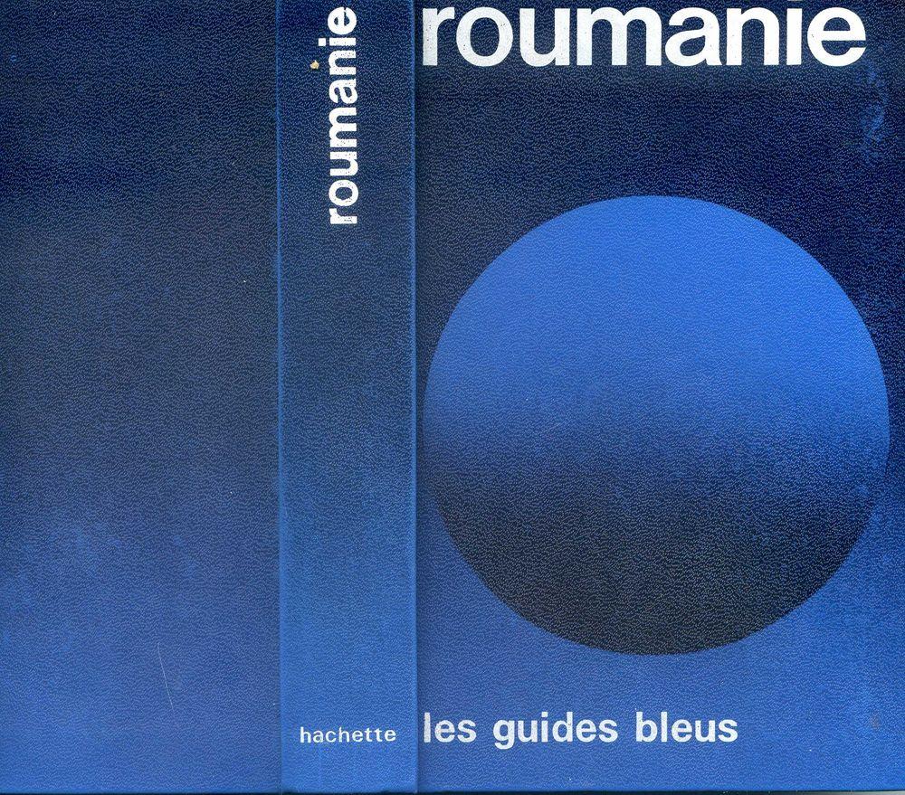 ROUMANIE - Les guides bleus 1974, 5 Rennes (35)