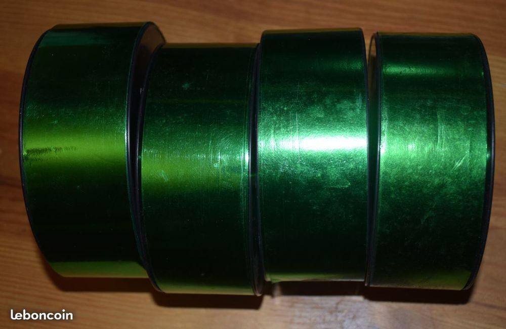 LOT RUBAN DECO MARIAGE - FETE - 50 mm - 68 m x 4 Décoration